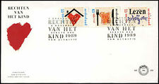Netherlands 1989 Child Welfare FDC First Day Cover #C20242