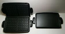 GEORGE FOREMAN GRILL WAFFLE PLATES AND GRILL PLATE - TSK-2610