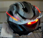 BICYCLE/CYCLE/MTB 360 DEGREE OPTIC LED LIGHT BIKE HELMET - SAVE 60% on RRP