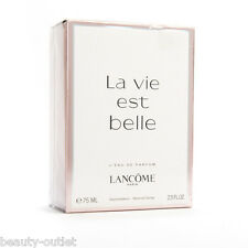 Lancome LA VIE EST BELLE EDP 75ml 2.5oz Eau de Parfum NEW IN BOX & 100% Original