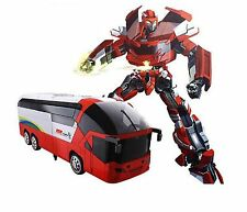 MZ Transformers 2372P RC Bus 8+ Toy Remote Control Robot Car Optimus Bumblebee