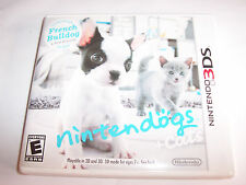 Nintendogs + Cats French Bulldog & New Friends (Nintendo 3DS) w/Case & Manual