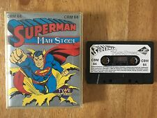 COMMODORE 64 (C64) - SUPERMAN THE MAN OF STEEL - GAME