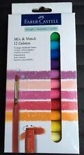 Faber Castell mezclar y combinar 12 deliciosos soluble en agua lápices de colores Nuevo/Sellado