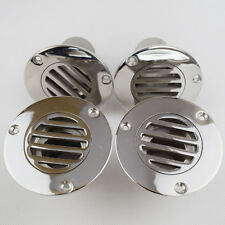 4PCS Hot 316 Steel 1-1/2 Inch Boat Deck Drain For Boat Yatch Marine Height 50mm
