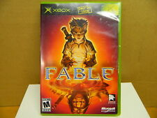 XBOX FABLE Good Condition / Complete 2004 Rated M - 17