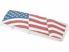 Rugged Ridge American Flag Insert Kit for Spartan Grille 07-16 Jeep JK 12034.22