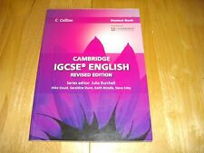 COLLINS CAMBRIDGE IGCSE ENGLISH STUDENT BOOK 0500 0522 KS4 EXAM PAPERS 2013 VGC