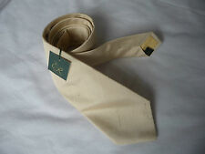 Ede Ravenscroft Brand New yellow shantung silk tie RRP £59