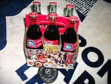 TORONTO MAPLE LEAFS COMPLETE SIX PACK OF COCA-COLA BOTTLES MAPLE LEAF GARDENS