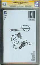 DARK KNIGHT III: THE MASTER RACE (DK3) #1 CGC 9.8 // SKETCH BY FRANK MILLER (6)