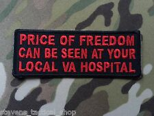 Price of Freedom Can Be Seen at Your Local VA Hospital Patch