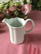 ROSENTHAL GERMANY CLASSIC MONBIJOU EMBOSSED SMALL WHITE MILK JUG 3 1/4'' TALL