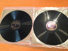 """HUGOPHONE SYSTEM (Two Voices) Learn """"ITALIAN"""" 2x12"""" 78rpm 1930s DCX22/23  EXC"""