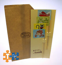 "Ghibli Museum Straw Hat Cafe Mini Character Flag Set Totoro Ponyo ""NEW"""