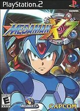 MEGA MAN X7 FOR PLAYSTATION 2 PS2! VIDEO GAME DISC ONLY! MEGAMAN X 7!