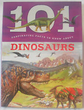NEW 101 FASCINATING FACTS ABOUT DINOSAURS CHILDREN'S BOOK BW