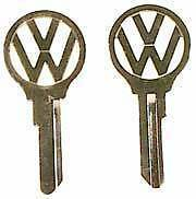 VW Split Bus Van Type 2 Volkswagen key blank logo EZDFV profiles 1956-1963 2 key
