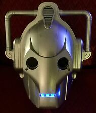 DR DOCTOR WHO CYBERMAN CYBER MAN COSTUME VOICE CHANGER MASK HELMET TALKS LIGHTS!