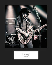 MOTORHEAD #2 10x8 SIGNED Mounted Photo Print - FREE DELIVERY
