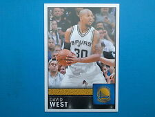 2016-17 Panini NBA Sticker Collection n.312 David West Golden State Warriors