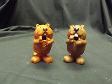 "Rare Marked HALLMARK Beaver Plus Hong Kong Imitation Pencil Sharpener, 3"" Tall"