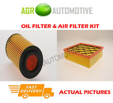 PETROL SERVICE KIT OIL AIR FILTER FOR VOLVO S40 2.5 230 BHP 2007-12
