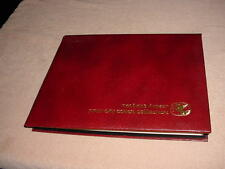 READERS DIGEST U.S. FDC`s COLLECTION , 42-COVERS W/ALBUM       1981-1982