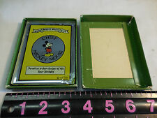 A. C. TIFFANY CO. CHIEF MICKEY MOUSE CLUB GLASS PERMIT--CHIPPED ON THE CORNER