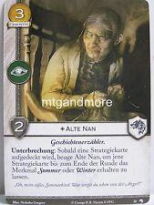 A Game of Thrones 2.0 LCG - 1x Alte Nan  #010 - Wölfe des Nordens