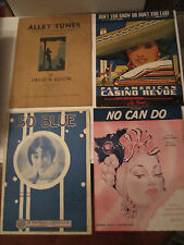 LOT OF 40 VINTAGE MUSIC SHEETS - SEE PICS - OVER THE RAINBOW & MUCH MORE -TUB QQ