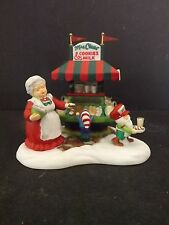 "DEPT 56 NORTH POLE ""MRS. CLAUS' COOKIES & MILK"" - #56861 - NEW"