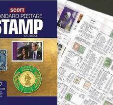 Australia 2017 Scott Catalogue Pages 721-786