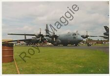 Colour print of USAF C130E Hercules 69-6566 at RAF Mildenhall in 1993