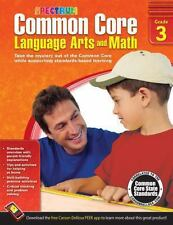 Common Core Language Arts and Math Grade 3 (2014, Paperback)