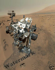 Photograph NASA  Space Mars Curiosity Rover on Mars 2012   11x14