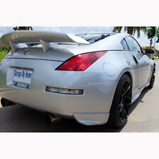 For 03-2008 Nissan 350Z Coupe Convertible Amuse Rear Wing Spoiler No Color Paint