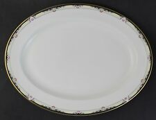Royal Doulton English Fine Bone China RHODES Porcelain Large Oval Platter 562178