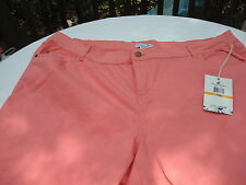 NEW  Carribbean Joe Jean Capris  - Size 24W -  Was $49.00   NEW WITH TAGS