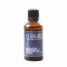 Citral - Essential Oil - 100% Pure - 50ml (EO50CITR)