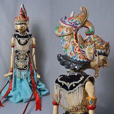 1 Holz Puppe Wayang Golek Marionette Original rod puppet GO08