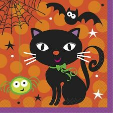 """Spooky Boots"" HALLOWEEN Kid Friendly Party Supplies Beverage NAPKINS NIP new"