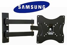 "Heavy Duty Swivel TV Wall Mount Bracket for 23-42"" Samsung LCD LED Plasma TVs"