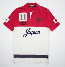 Ralph Lauren Rugby Vintage Japan Big Kicker Polo Shirt XS New