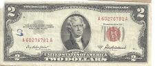 US  1928G  $2 Red Seal and Red Star