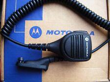 MOTOROLA DP3400 DP4000 DP4600 RADIO WALKIE TALKIE REMOTE SPEAKER MIC /AUDIO JACK