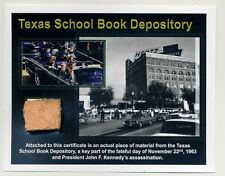Texas School Book Depository-Genuine Piece of the Site of the JFK Assassination