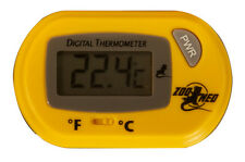 ZOO MED DIGITAL TERRARIUM THERMOMETER FOR REPTILES PROBE FREE SHIP IN THE USA