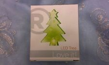 BRAND NEW USB COLOR CHANGING LED SMALL CHRISTMAS TREE RADIO SHACK - SUCTION CUP