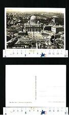 ROMA (RM) - PIAZZA S. PIETRO DALL'AEREO - NON VIAGGIATA - 54759